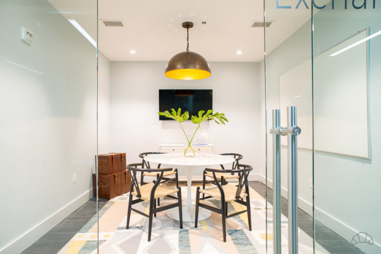 Book a conference room for a private conversation