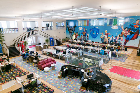 Hero City coworking space