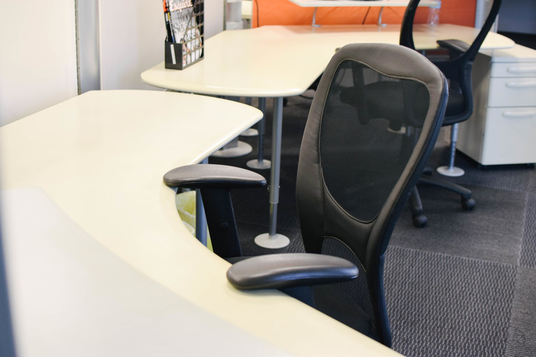 Comfy ergonomic chairs for you to focus and get work done.