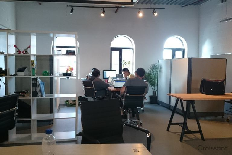 remote workers and creatives at Lab T.O