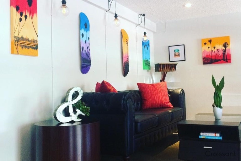 03 Couch and Art Area