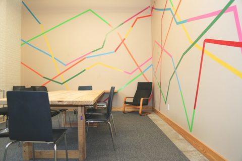 00 colorful workspace area