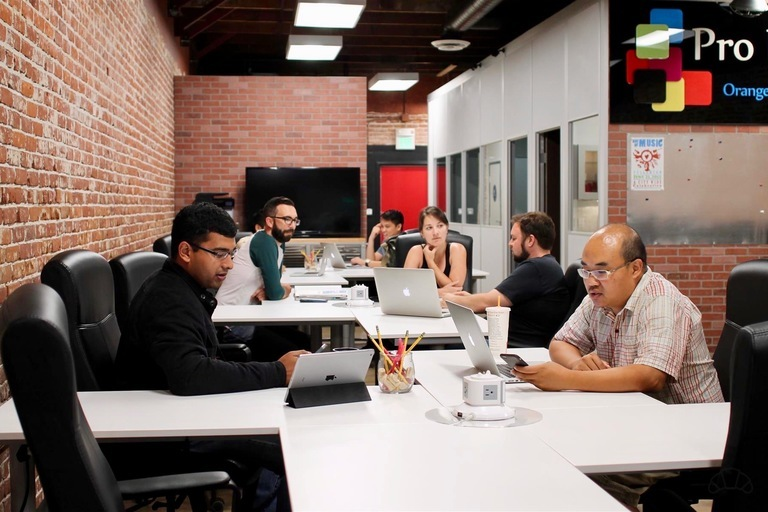 Flexible seatings in communal shared tables